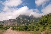 """Mountain landscape of Dimerdzhi"" — Stock Photo"