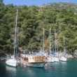 Boats in Oludeniz - Stock Photo