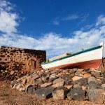 Rusty boat — Stock Photo