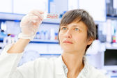 Test for the cancer cells — Stock Photo