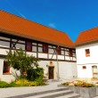 Fachwerk house - Stock Photo