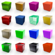 color cubes — Stock Photo #7999494