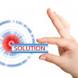 Solution - Foto de Stock  