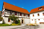 Fachwerk house — Stock Photo