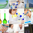 Stock Photo: Chemical set