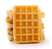 Wafer on white — Stock Photo