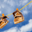 Kids shoes — Stock Photo #8608159