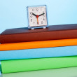 Time and books — Stock Photo