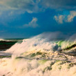Storm in ocean — Stock Photo
