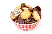 Soubory cookie — Stock fotografie