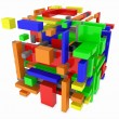 color cubes — Stock Photo #8742479