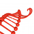Stock Photo: 3D DNA