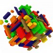 Stock Photo: color cubes