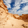Stock Photo: Sand quarry