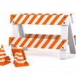 Traffic cones — Stock Photo #8934658