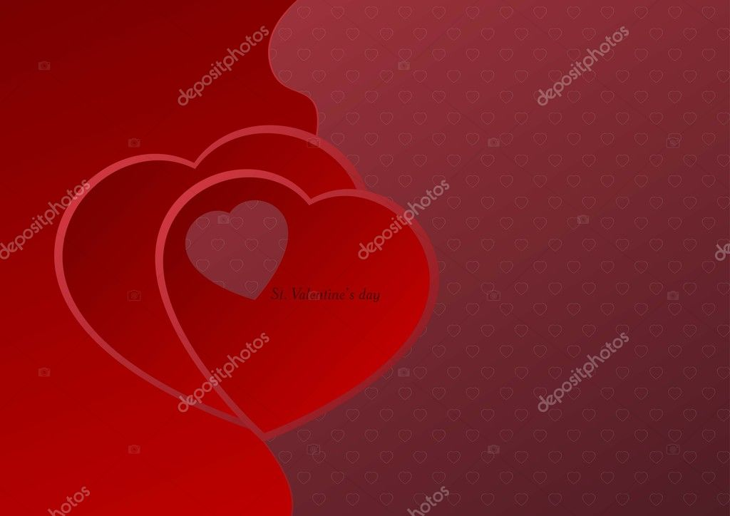 Valentines background — Stock Vector #8427198