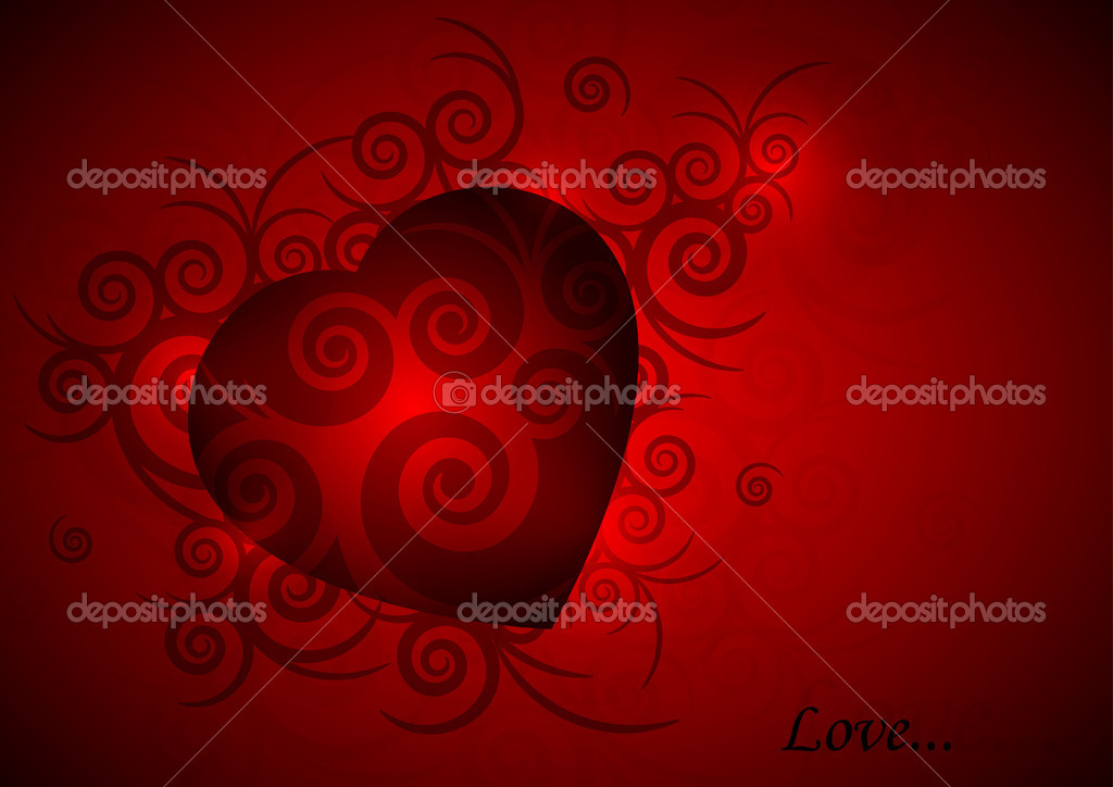 Valentines background  Stockvektor #8523931