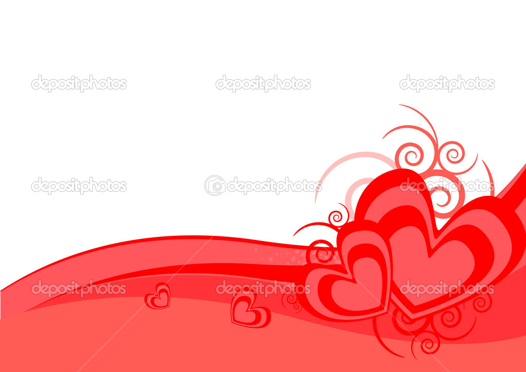 Valentines background — Stock Vector #8580654