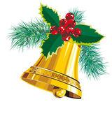 圣诞风铃 — 图库矢量图片
