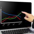 Business chart — Stock Photo #10539305
