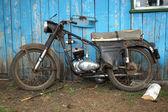 Тhe old soviet motorbike — Stock fotografie