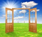 Open the door — Stock fotografie