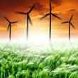 Wind turbines — Stock Photo #10343464