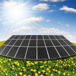 Solar energy panels — Stock Photo #10489777