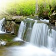 Stock Photo: Beautiful waterfalls