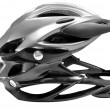Bicycle cross country plastic helmet - Stock Photo