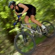 Mountain biker — Stock Photo #7974291