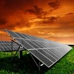Solar energy panels — Stock Photo #7974312