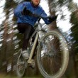Mountain biker — Stock Photo #7974317