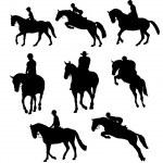 Riding horse — Stock Photo #7974318