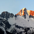 nascer do sol sobre presanella-Alpes italianos — Foto Stock #7974787