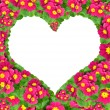 Foto Stock: Flower heart