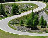 Estrada de montanha — Foto Stock