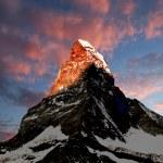 Matterhorn - Swiss Alps — Stock Photo #8059162