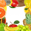 Stock Photo: Fruit frame