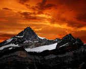 Zinalrothorn - Swiss alps — Foto Stock