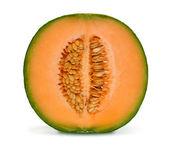 Cantaloupe melon isolated — Stock Photo
