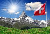 Beautiful mountain Matterhorn — Stock Photo