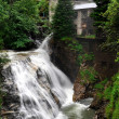 Waterfall in the beautiful spa town of Bad Gastein — Stock Photo #8099041