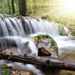 Waterfall in the Czech Republic - 