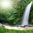 Beautiful waterfall — Stock Photo #8099371