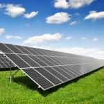 Solar energy panels — Stock Photo #8123754