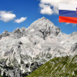 Mount Triglav in JuliAlps - Slovenia, Europe — Stock Photo #8179265