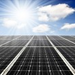Solar energy panels — Stock Photo #8238276