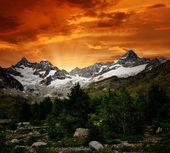 Ober gabelhorn - zwitserse alpen — Stockfoto