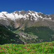 Saas Fee, Switzerland - Stock Photo
